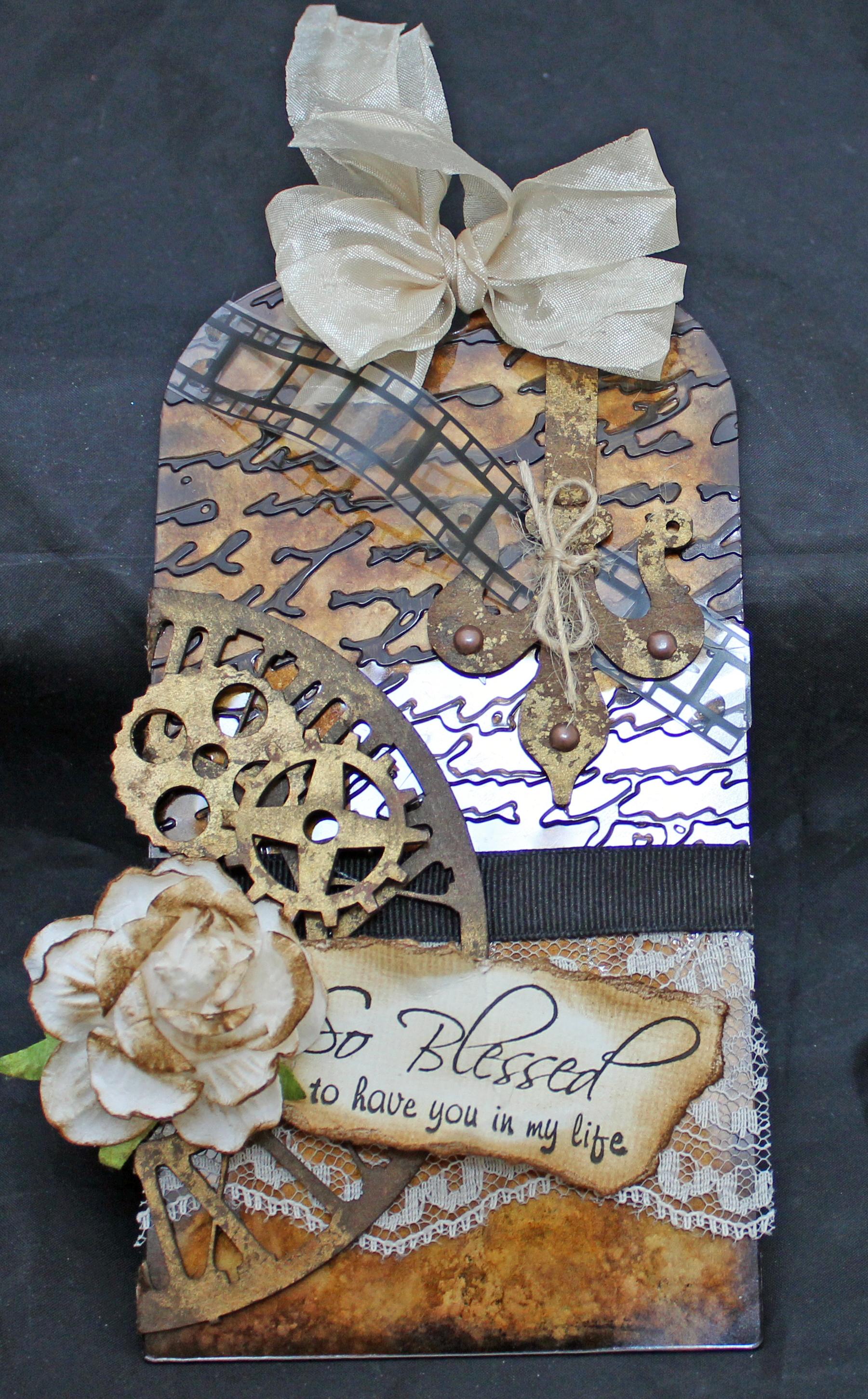 Tattered Leaf Chipboard Embellishments Chipboard Shapes Scrapbooking,Embellishment,Ephemera Mixed Media Chipboard Leaf Cardboard leaf